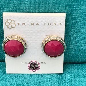 Trina Turk earrings NWT